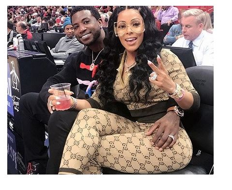Gucci Mane\u0027s wife Keyshia Kaoir FLaunts her diamond wedding