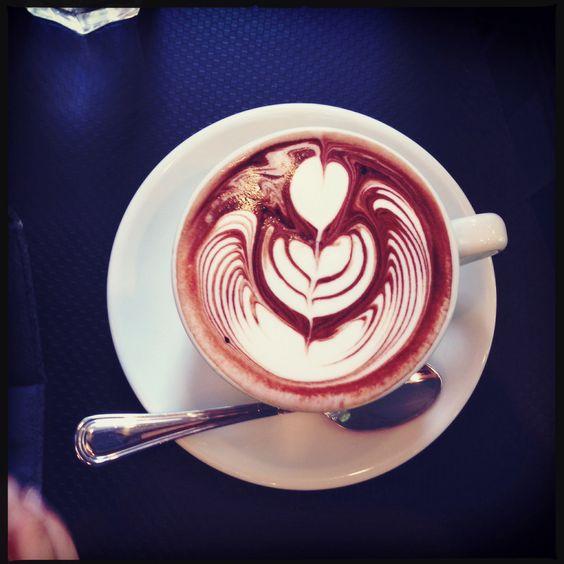 Hot creamy chocolate at Tiong Bahru Bakery