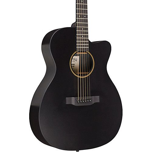 Martin Special 000 Cutaway X Style Acoustic Electric Guitar Black Acoustic Electric Guitar Guitar Acoustic Electric