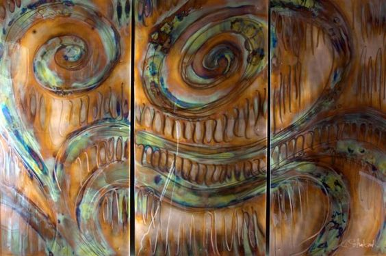"PIPER :: ""Patience (Triptych)"" By Christi Schwebach"