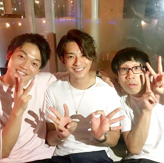 三浦翔平さんとひょっこりはんとおばたのお兄さん