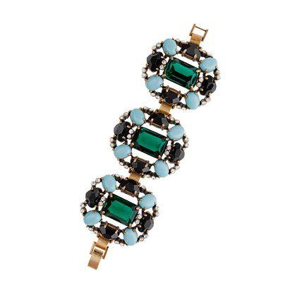 Grand stone bracelet. #Jewelry.