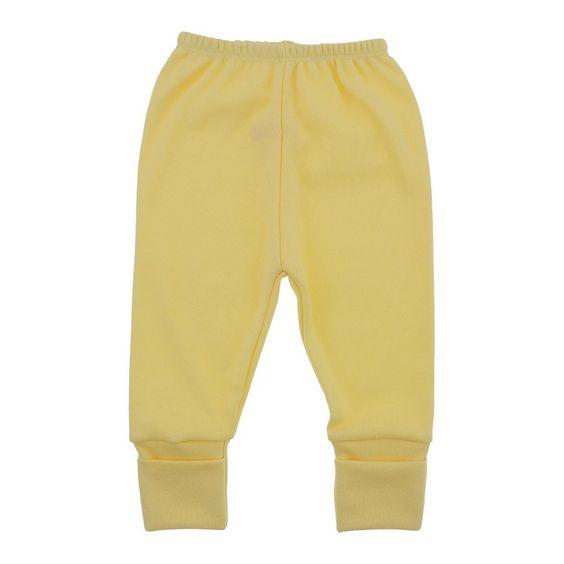 Calça de bebê com pé reversível feito em malha macia e confortável para a pele delicada do bebê, com cores para meninos e meninas, entre e confira!