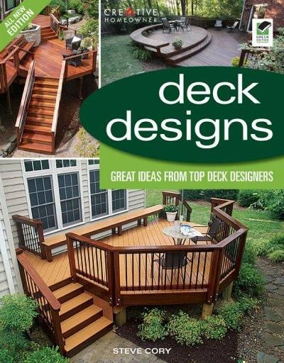 Deck Designs, 3rd Edition shows readers the latest design trends and materials in deck building. Following the format of the best-selling Deck Designs, the all-new edition features the work of four ne