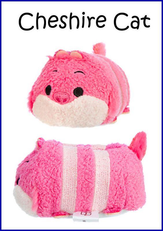 AUTHENTIC Disney Store TSUM TSUM Mini Alice in Wonderland CHESHIRE CAT Plush Toy #Disney