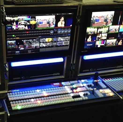 Live! Audiovisual cubrió las elecciones andaluzas con tecnología Skype TX para El País · Newtek Talkshow