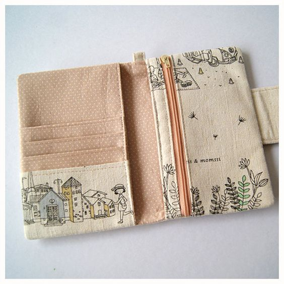 Passport Wallet iPhone Wallet Travel to Finland by soarshadow