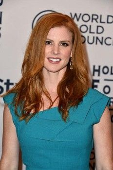 Actress Sarah Rafferty arrives at the 13th Annual InStyle And The Hollywood Foreign Press Association's Toronto International Film Festival Party at the Windsor Arms Hotel on September 11, 2012 in Toronto, Canada.