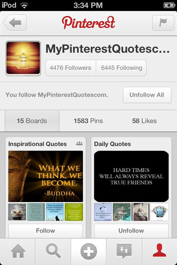 Follow them they have quotes of all kinds