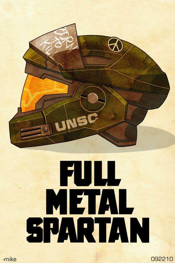 Full Metal Spartan by *MikeDimayuga on deviantART
