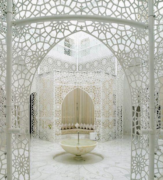 hotel foyer, marrakech