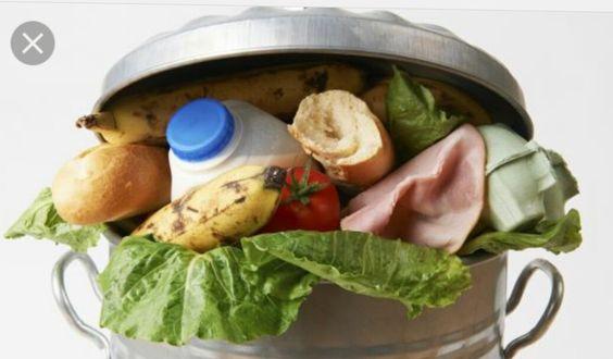 Mijn probleem is voedsel verspilling