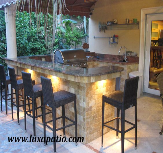 Outdoor Kitchen Lighting Design: Outdoor Kitchens, Outdoor And Lighting On Pinterest