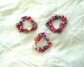 conjunto 3 pulseiras Verão