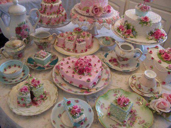 Victorian tea party cakes cakes pinterest party for Victorian tea party supplies