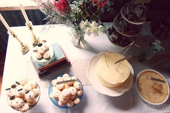 Tea a *HUG* From The Inside: A cake table on a beautiful day