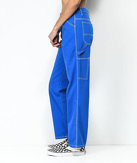 Dickies Cobalt Carpenter Pants Dickies Pants Lazy Outfits 90s