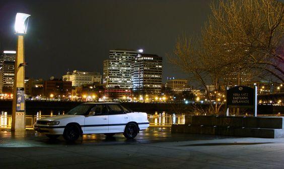 My 92 Subaru. :)