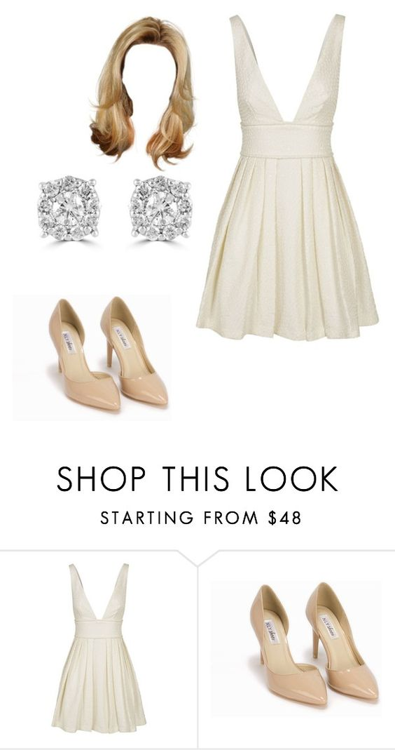 """""""Untitled #12399"""" by iamdreamchaser ❤ liked on Polyvore featuring Nly Shoes and Effy Jewelry"""