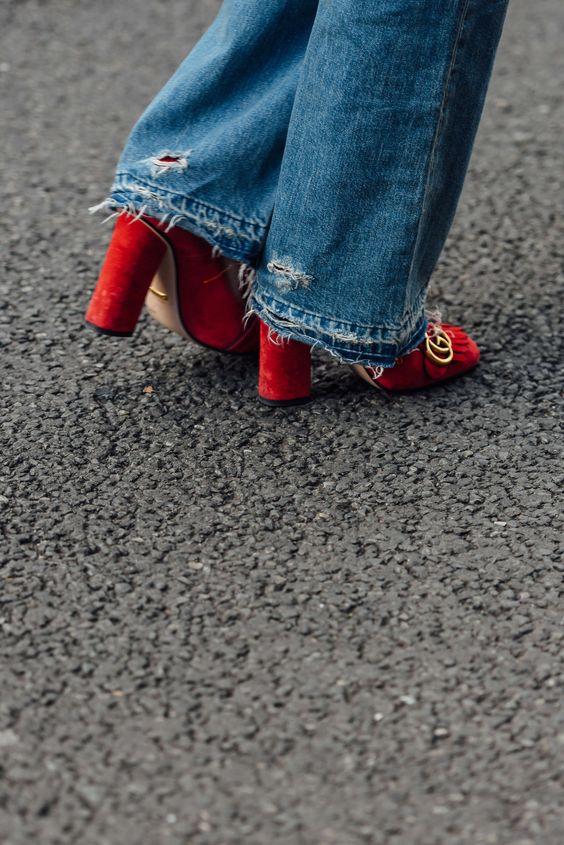 March 6, 2016 Tags Paris, Jeans, Gucci, FW16 Women's:
