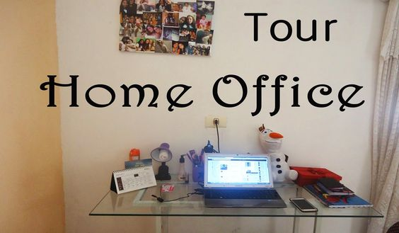 Home Office Tour    por Isabela  Dias   Dona Raposa       - http://modatrade.com.br/home-office-tour