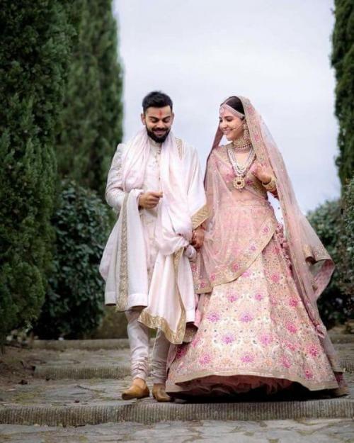 Shop Virat Kohli And Anushka Sharma S Wedding Looks Now