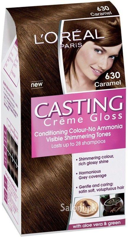 loreal paris casting creme gloss 630 caramel saloni health - Coloration L Oreal Caramel