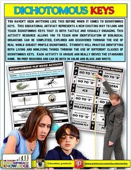 Dichotomous Keys by MR TAYLOR'S SCIENCE EMPORIUM OF KNOWLEDGE | Teachers Pay Teachers