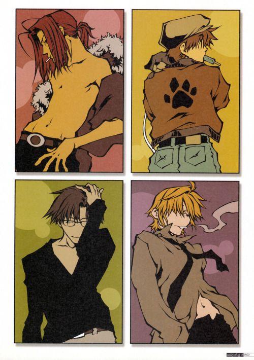 Salty-Dog IV~Kazuya Minekura Illustrations