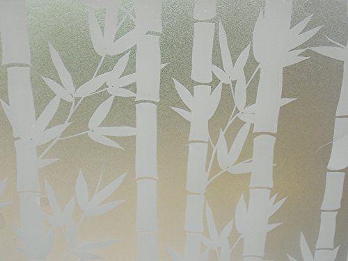 Milchglas Folie Fenster folie Flower Blume 90cm Breit 7,77u20ac\/m² (1m - folie für badezimmerfenster
