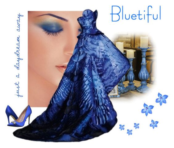 """Blue Eyed Girl"" by sheri-gifford-pauline ❤ liked on Polyvore featuring Enzo Angiolini and blueeyedgirl"