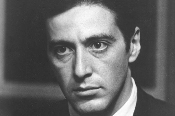 Hero Michael Corleone turned villain
