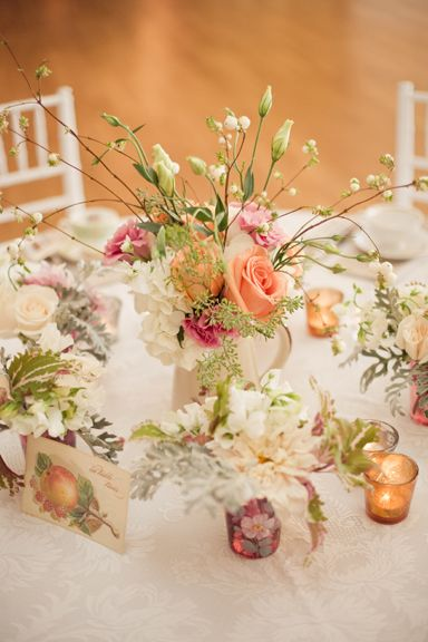 country rustic tablescape