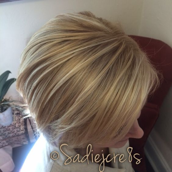 Bombshell blonde by Sadie