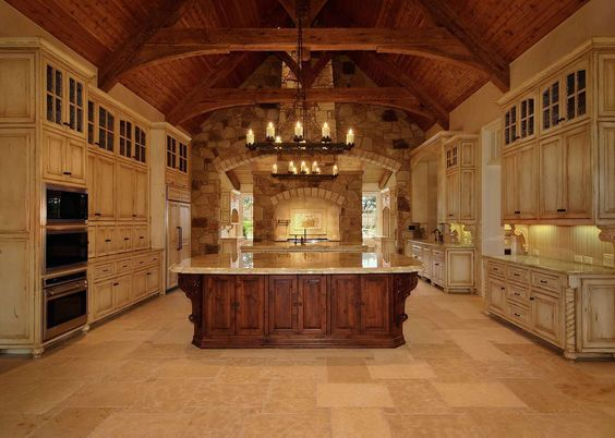 Best Luxury Kitchens Cabinets And Islands On Pinterest 400 x 300