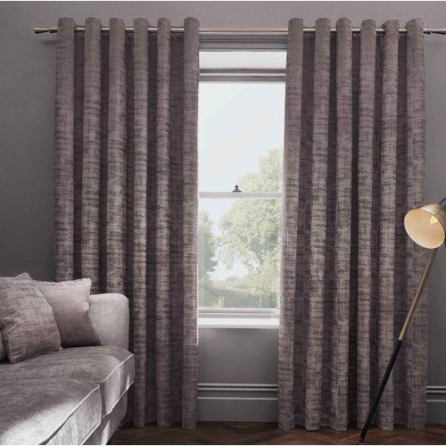 Fairmont Park Stoumont Eyelet Room Darkening Curtains Room