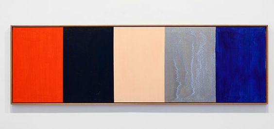 """Günther Förg, """"Untitled"""" 1989"""
