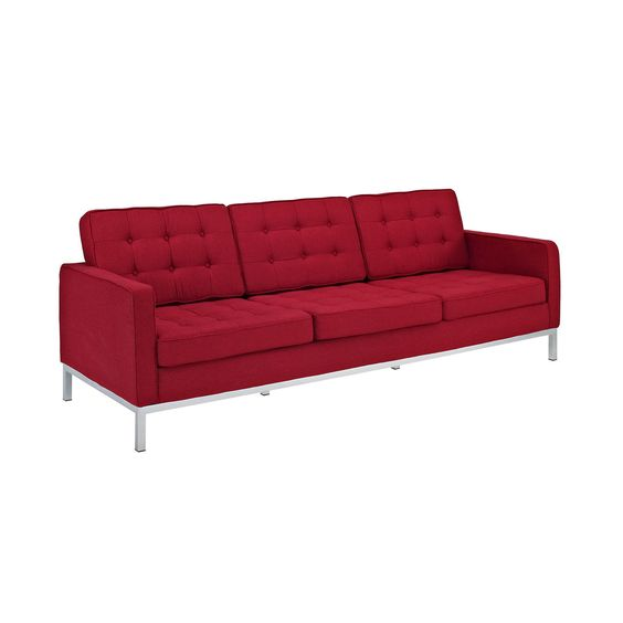 Swanky Sofa in Raspberry   dotandbo.com. I. MUST.HAVE.THIS...MUST!!!