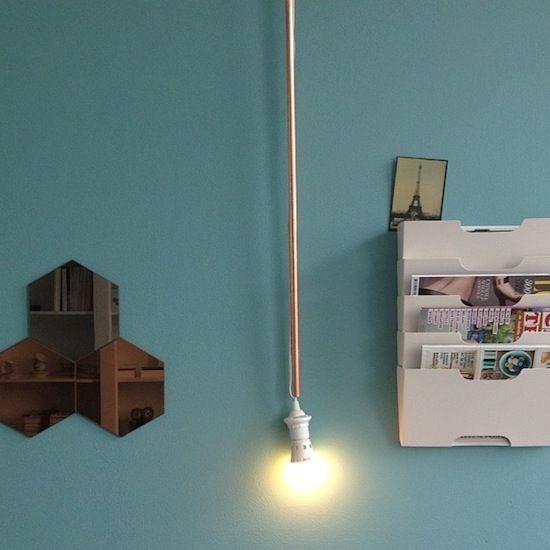 DIY-lamp made by @patjem