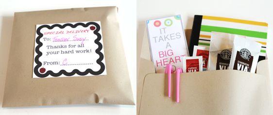 Modern Parents Messy Kids: Appreciate Your Favorite Teacher with a DIY Survival Kit: