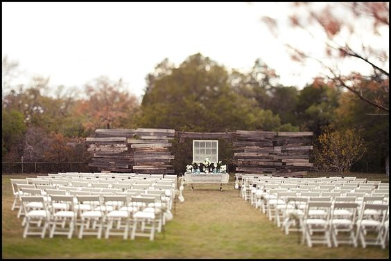 ceremony table: Ranch Wedding, Wedding Ideas, Country Wedding, Dream Wedding, Texas Wedding, Outdoor Weddings, Wedding Ceremony, Rustic Wedding Backdrops