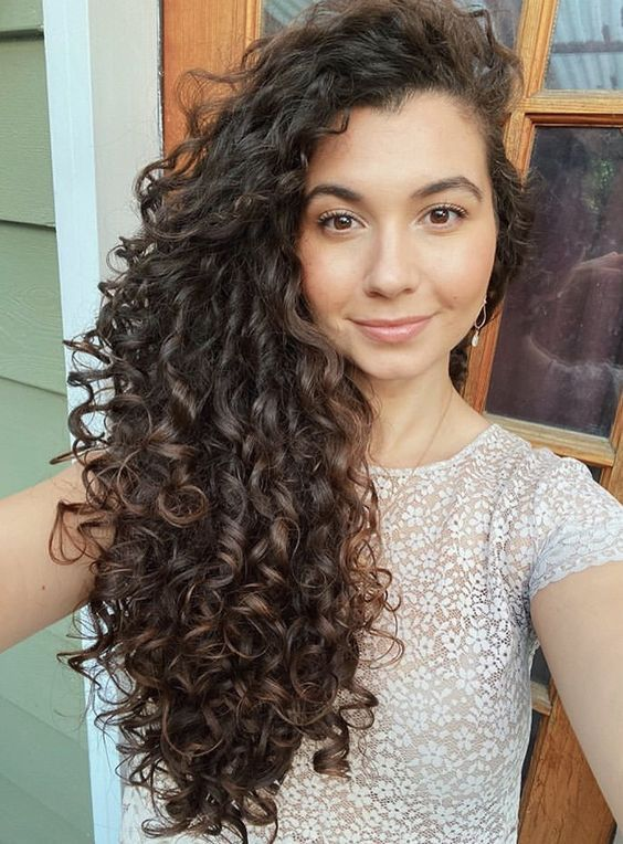 Dream Coat For Curly Hair Long Natural Curly Hair Curly Hair Styles Long Curly Haircuts