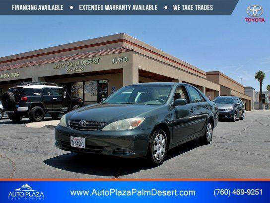 Sedan 2004 Toyota Camry With 4 Door In Palm Desert Ca 92260