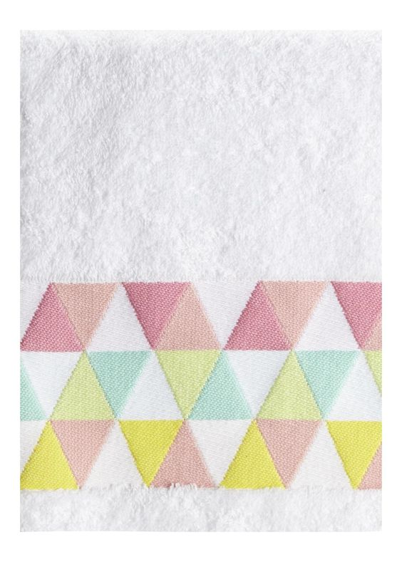 Triangle Pastel Pop Hand And Bath Towels Matalan Home Swetmag Home Pinterest