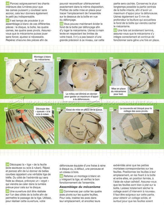 Quatrefoil Box Plans - Woodworking Plans Holzarbeiten Pinterest