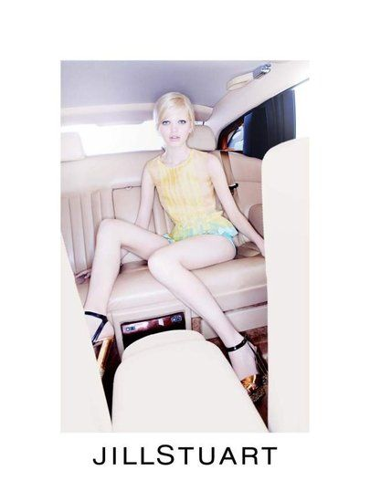 Jill Stuart Spring 2012 Ad Campaign  Daphne Groeneveld, photographed by Mario Sorrenti