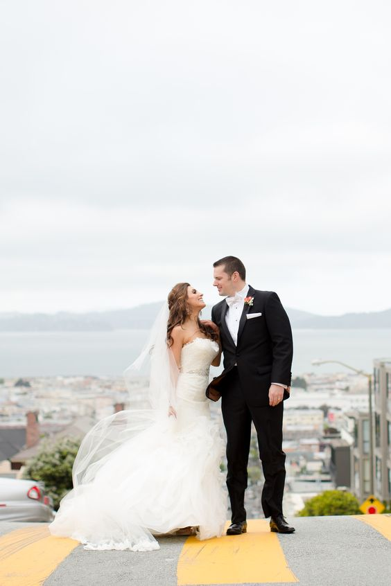 A Romantic Wedding at Flood Mansion in San Francisco, California | Kristina Taheri Special Events | Theknot.com