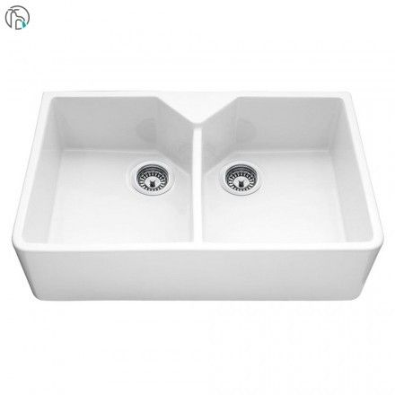 Bluci Vecchio G10 Double Bowl Ceramic Belfast Sink