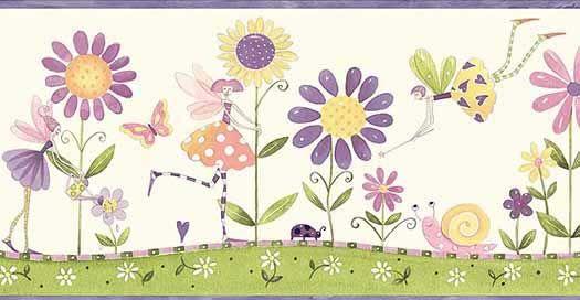 5 Secrets How To Use Flower Wallpaper Borders To Create A Beautiful Room Flower Wallpaper Wallpaper Border Wallpaper