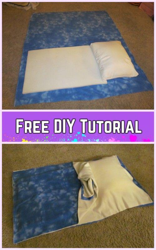 Diy Baby Pillowcase Sleeping Bag Nap Mat Tutorials Pillowcase Sleeping Bag Diy Baby Stuff Nap Mat Tutorial